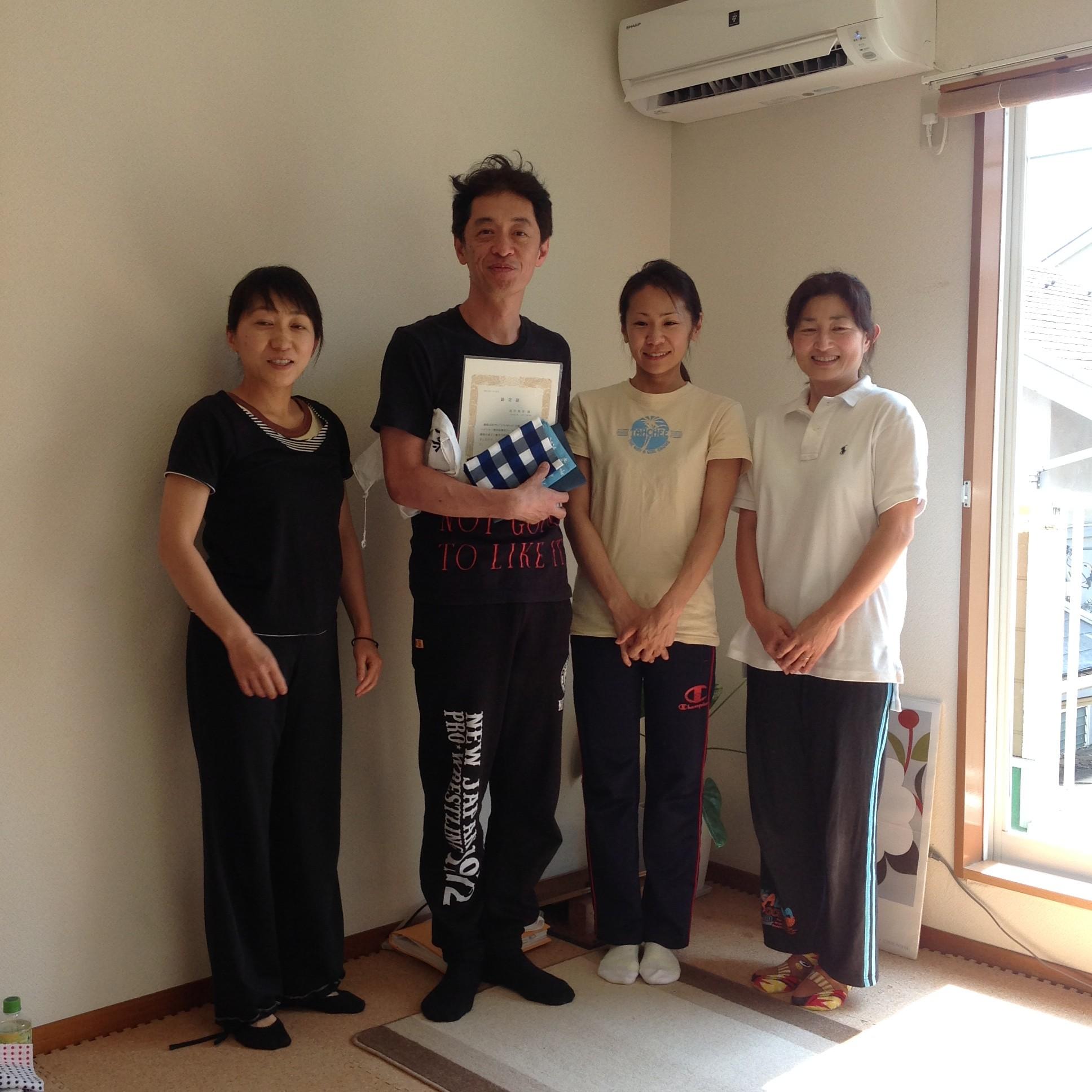 田中さん卒業・てあて整体スクール