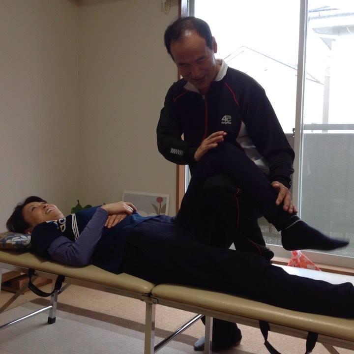 膝の症例1・てあて整体スクール