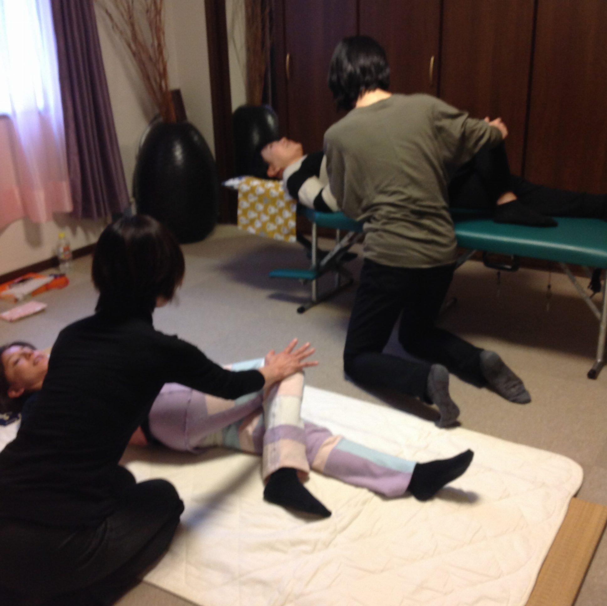 名古屋教室171114・てあて整体スクール