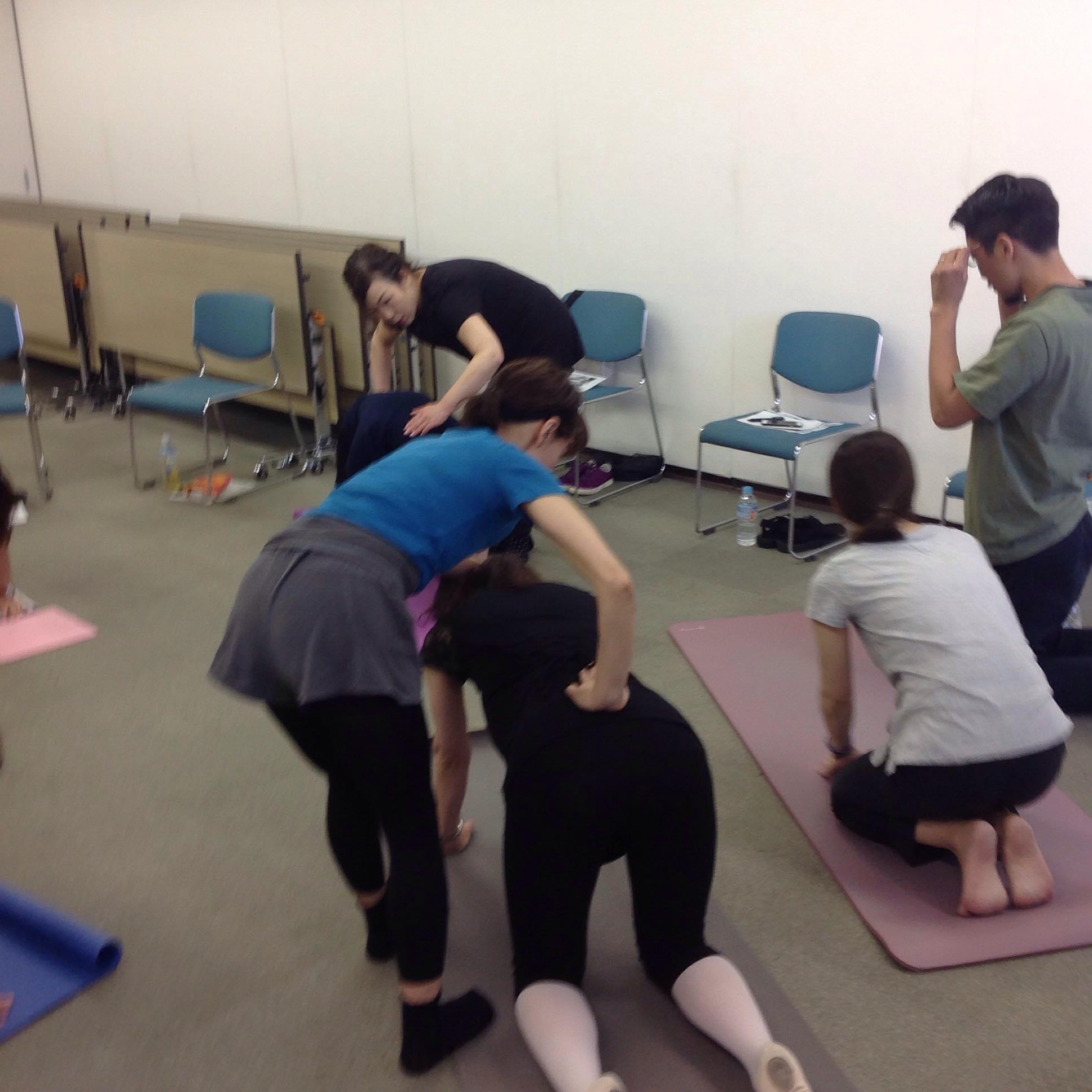 神戸カラダの座学2てあて整体スクール