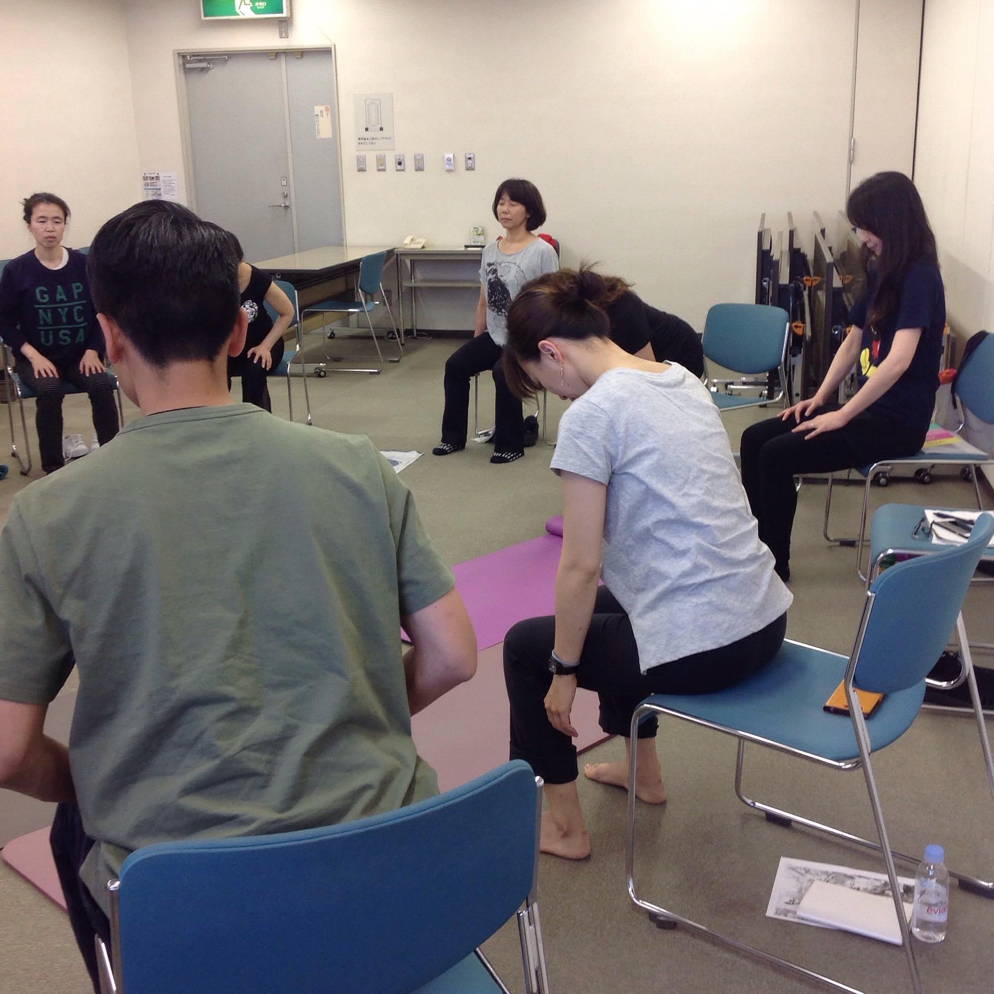 神戸カラダの座学4・てあて整体スクール
